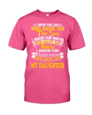 GOD GAVE ME MY DAUGHTER Classic T-Shirt tile