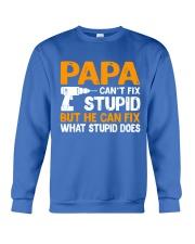 PAPA CAN FIX Crewneck Sweatshirt front
