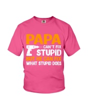 PAPA CAN FIX Youth T-Shirt front