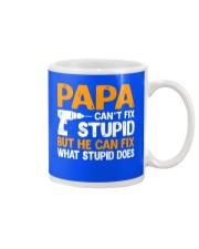 PAPA CAN FIX Mug front