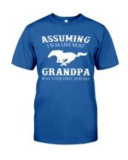 MOST GRANDPA Classic T-Shirt front