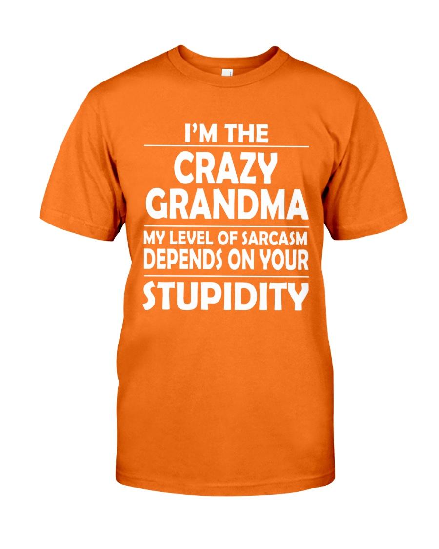 CRAZY  GRANDMA Classic T-Shirt