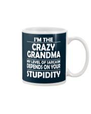 CRAZY  GRANDMA Mug thumbnail