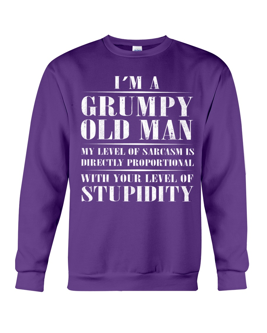 GRUMPY OLD MAN Crewneck Sweatshirt