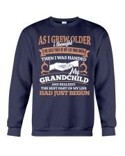 I Was Handed Crewneck Sweatshirt front