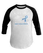 In This Family No One Fights Alone Behcets Disease Baseball Tee thumbnail