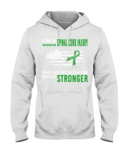 Spinal Cord Injury Warrior Destroy Makes Stronger Hooded Sweatshirt thumbnail