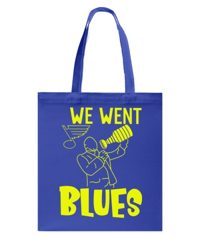 We went blues shirt