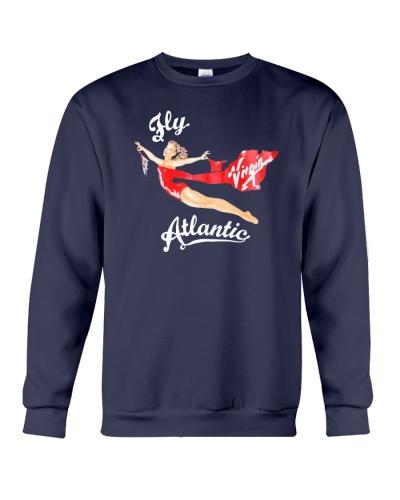 fly virgin atlantic sweatshirt