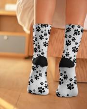 Crew Length Socks - Dog Socks  Crew Length Socks aos-accessory-crew-length-socks-lifestyle-back-01