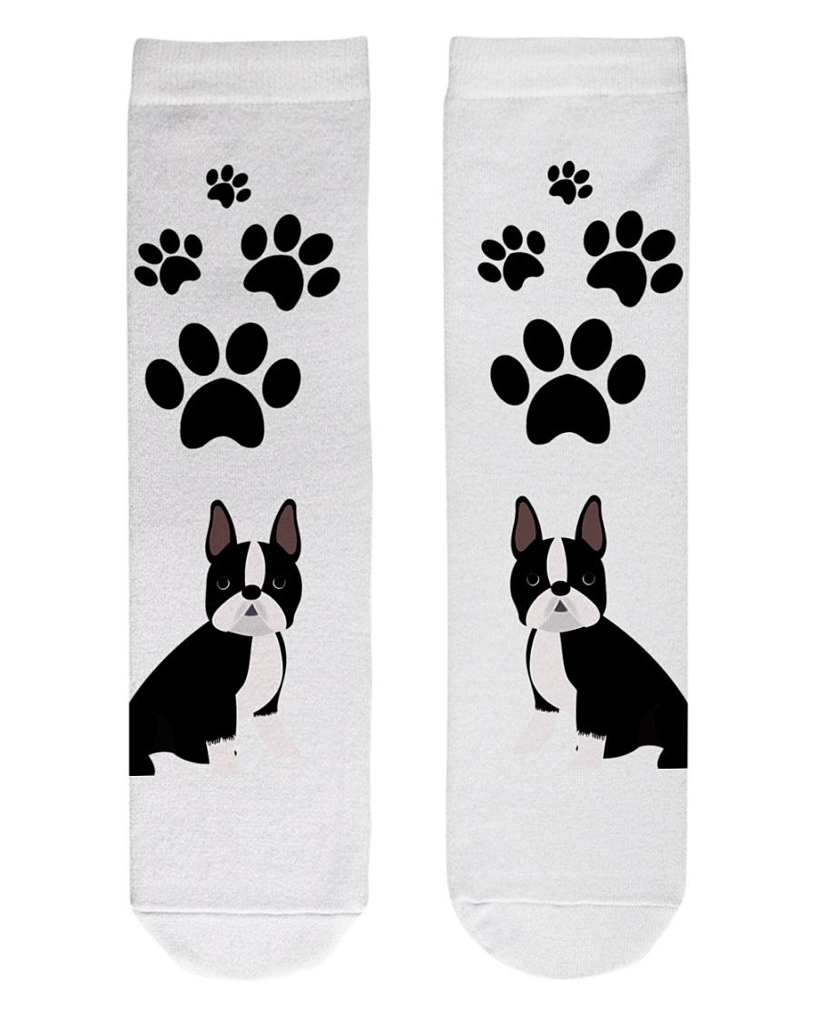 Crew Length Socks - Dog Socks  Crew Length Socks