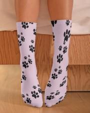 Dog Socks Crew Length Socks aos-accessory-crew-length-socks-lifestyle-front-02