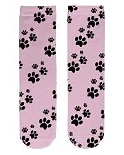 Dog Socks Crew Length Socks front