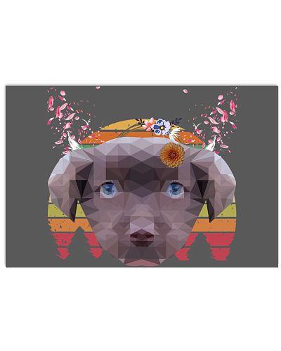 Custom Dog Portrait Poster
