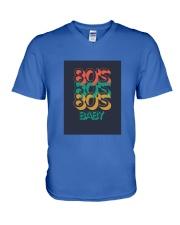 80's baby T-shirt V-Neck T-Shirt thumbnail