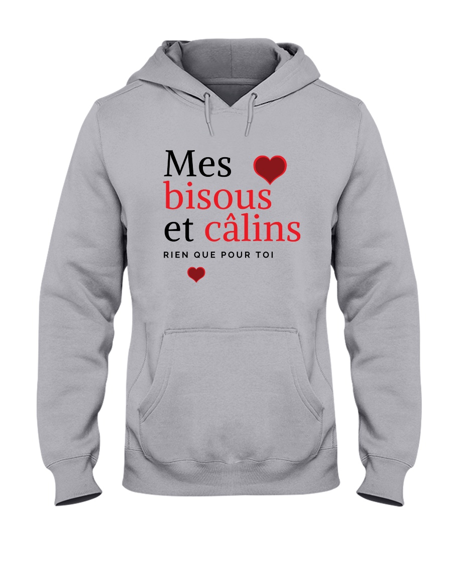 Mes Bisous et Câlins Hooded Sweatshirt