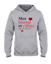Mes Bisous et Câlins Hooded Sweatshirt thumbnail