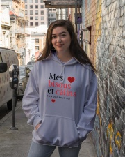 Mes Bisous et Câlins Hooded Sweatshirt lifestyle-unisex-hoodie-front-1