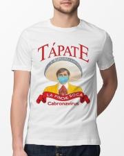 Tapate la pinche boca cabronavirus shirt Classic T-Shirt lifestyle-mens-crewneck-front-13