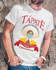 Tapate la pinche boca cabronavirus shirt Classic T-Shirt lifestyle-mens-crewneck-front-4