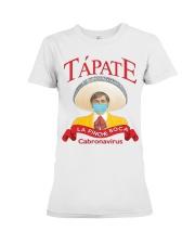 Tapate la pinche boca cabronavirus shirt Premium Fit Ladies Tee thumbnail