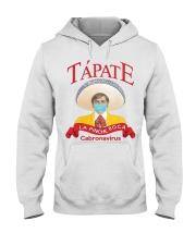 Tapate la pinche boca cabronavirus shirt Hooded Sweatshirt thumbnail