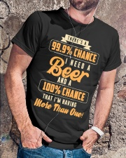 That I'm Having More Than One Beer shirt Classic T-Shirt lifestyle-mens-crewneck-front-4