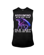 DRAGON ASSUMING I'M JUST AN OLD LADY Sleeveless Tee thumbnail