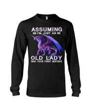 DRAGON ASSUMING I'M JUST AN OLD LADY Long Sleeve Tee thumbnail