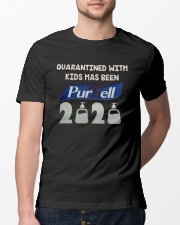 Quarantined with kids has been purhell 2020 Classic T-Shirt lifestyle-mens-crewneck-front-13