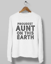 proudest aunt on this earth shirt Crewneck Sweatshirt lifestyle-unisex-sweatshirt-front-10