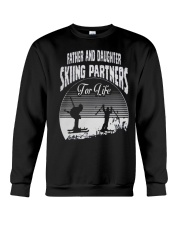 Father and Daughter - Skiing Partners For Life Crewneck Sweatshirt thumbnail