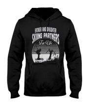 Father and Daughter - Skiing Partners For Life Hooded Sweatshirt thumbnail