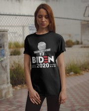 Will You Shut Up Man just shut up man Classic T-Shirt apparel-classic-tshirt-lifestyle-18