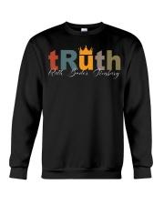 Ruth Bader Ginsburg Truth Crown Crewneck Sweatshirt thumbnail