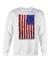 Strain Wars The Collage Flag Crewneck Sweatshirt thumbnail