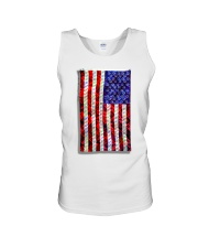 Strain Wars The Collage Flag Unisex Tank thumbnail