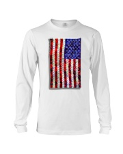 Strain Wars The Collage Flag Long Sleeve Tee thumbnail