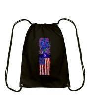 Strain Wars The Collage Flag Drawstring Bag thumbnail