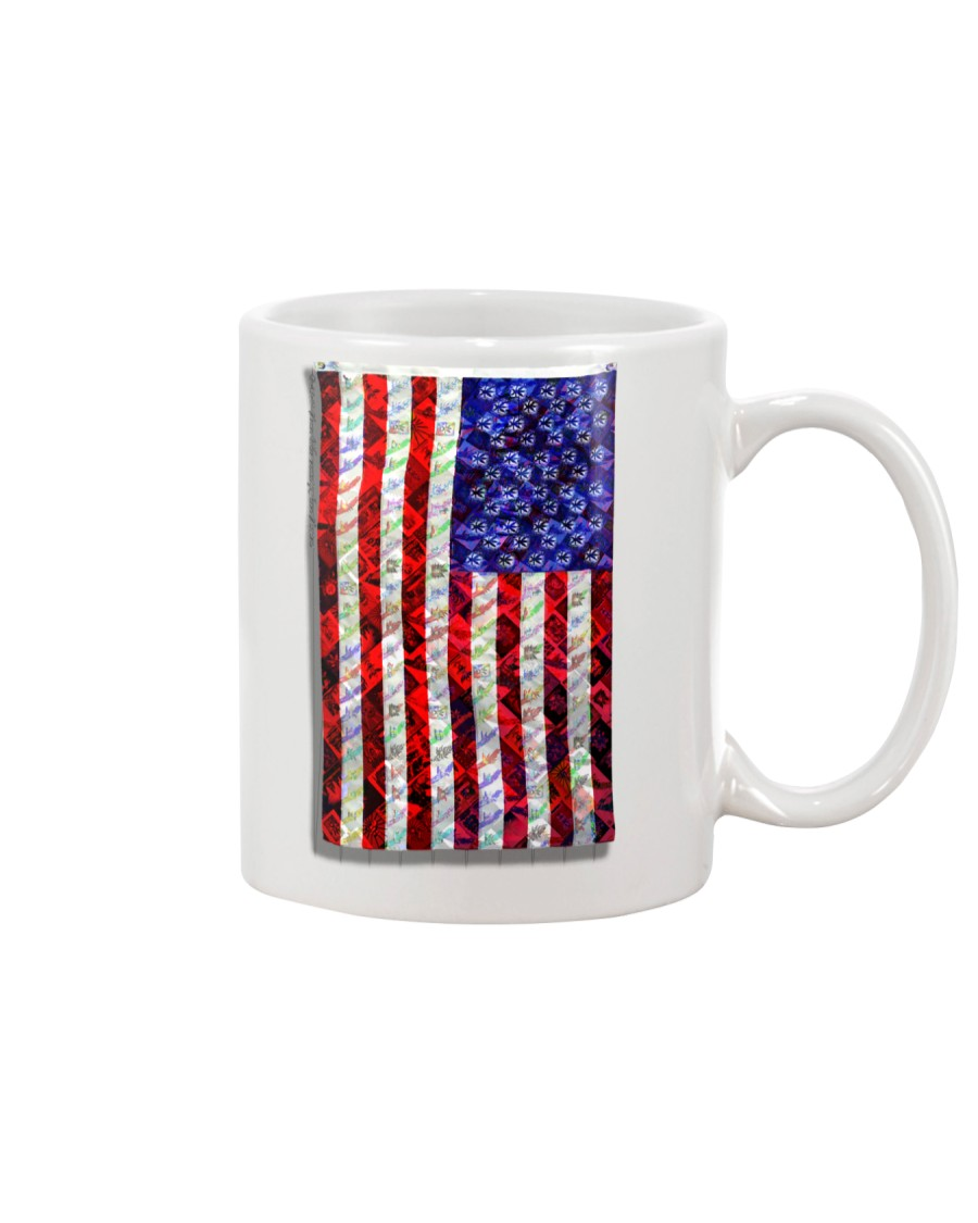 Strain Wars The Collage Flag Mug