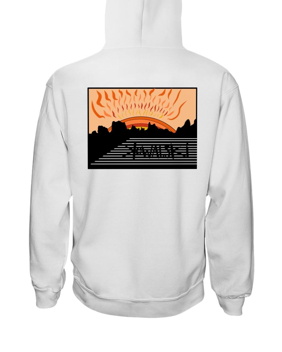 Shaded  Hooded Sweatshirt