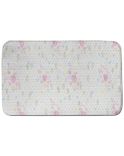 """Graphic hearts love and dots design background Bath Mat - 34"""" x 21"""" thumbnail"""