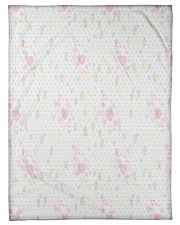 """Graphic hearts love and dots design background Small Fleece Blanket - 30"""" x 40"""" thumbnail"""