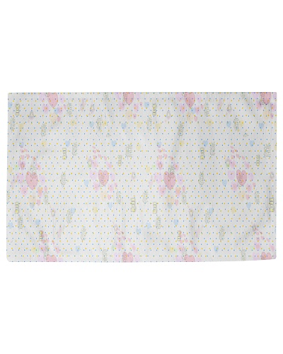 Graphic hearts love and dots design background