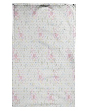 Graphic hearts love and dots design background Tea Towel thumbnail