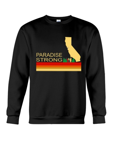 paradise camp fire california strong vintage