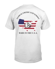 GAP - Global American Patriot Classic T-Shirt back