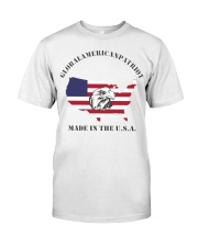 GAP - Global American Patriot Classic T-Shirt front