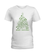 MERRY TURTLEMAS Ladies T-Shirt thumbnail