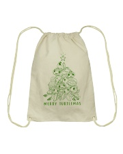 MERRY TURTLEMAS Drawstring Bag thumbnail